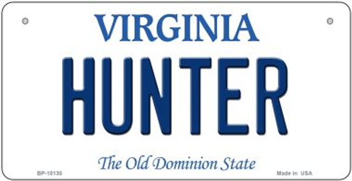 Hunter Virginia Wholesale Novelty Metal Bicycle Plate BP-10130