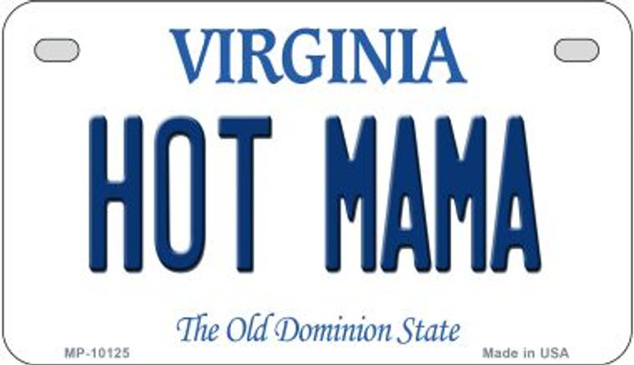 Hot Mama Virginia Wholesale Novelty Metal Motorcycle Plate MP-10125