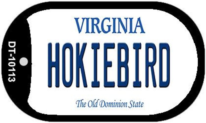 Hokiebird Virginia Wholesale Novelty Metal Dog Tag Necklace DT-10113