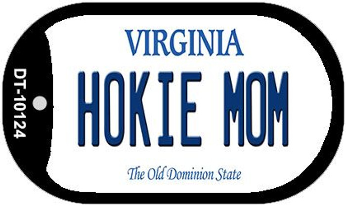 Hokie Mom Virginia Wholesale Novelty Metal Dog Tag Necklace DT-10124