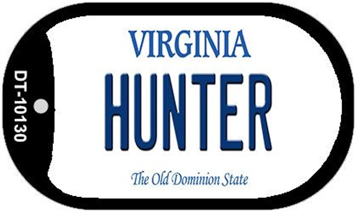 Hunter Virginia Wholesale Novelty Metal Dog Tag Necklace DT-10130