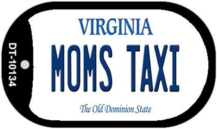 Moms Taxi Virginia Wholesale Novelty Metal Dog Tag Necklace DT-10134