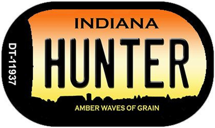 Hunter Indiana Wholesale Novelty Metal Dog Tag Necklace DT-11937