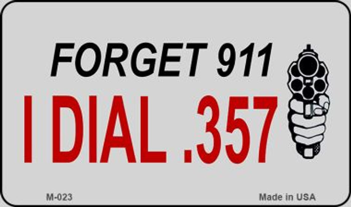 Forget 911 Wholesale Novelty Metal Magnet M-023