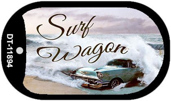 Surf Wagon Wholesale Novelty Metal Dog Tag Necklace DT-11894
