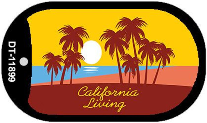California Living Wholesale Novelty Metal Dog Tag Necklace DT-11899