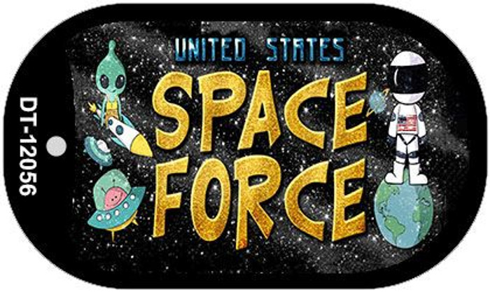 Space Force Wholesale Novelty Metal Dog Tag Necklace DT-12056