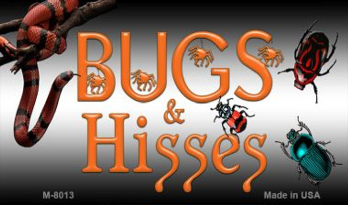 Bugs and Hisses Wholesale Novelty Metal Metal M-8013