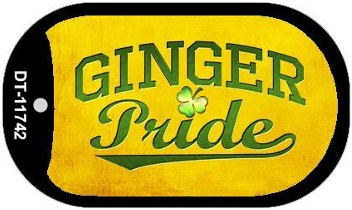 Ginger Pride Wholesale Novelty Metal Dog Tag Necklace DT-11742