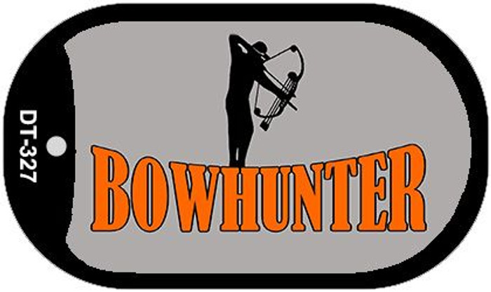 Bow Hunter Wholesale Novelty Metal Dog Tag Necklace DT-327