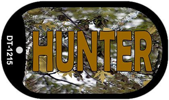 Hunter Camouflage Wholesale Novelty Metal Dog Tag Necklace DT-1215