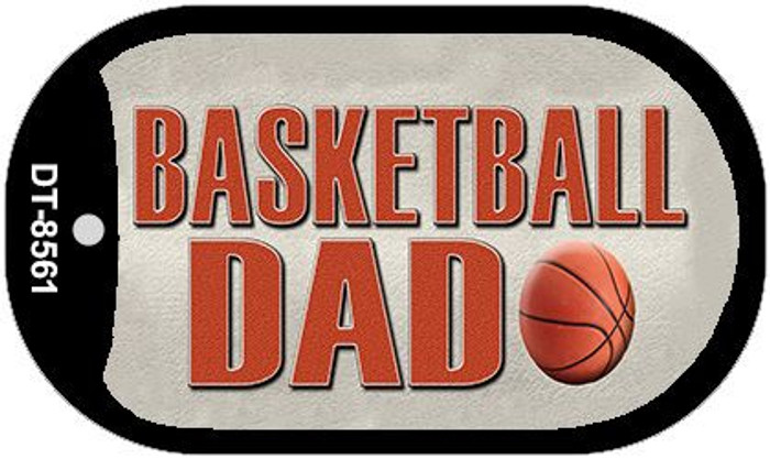 Basketball Dad Wholesale Novelty Metal Dog Tag Necklace DT-8561