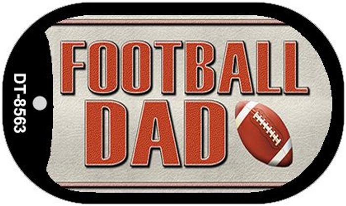 Football Dad Wholesale Novelty Metal Dog Tag Necklace DT-8563