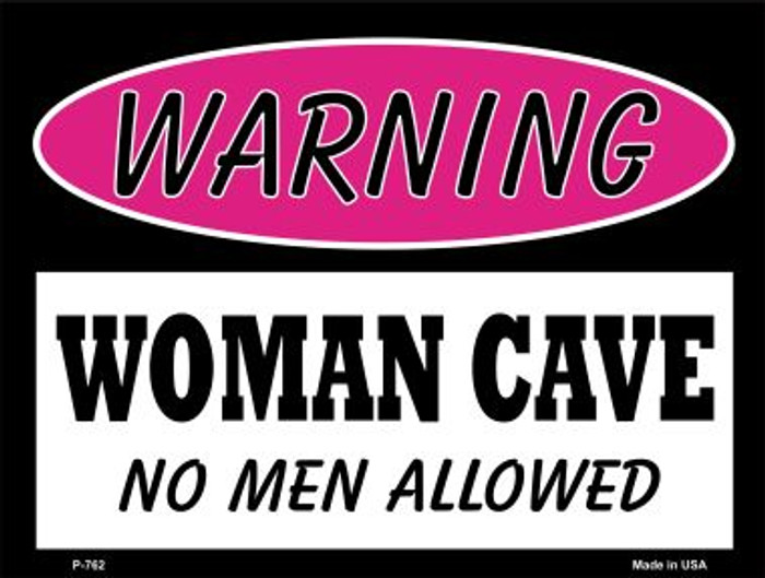 No Men Allowed Wholesale Metal Novelty Parking Sign P-762