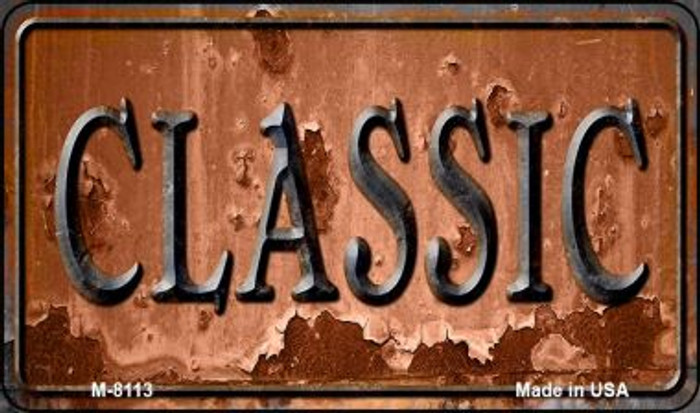 Classic Rusty Wholesale Novelty Metal Magnet M-8113