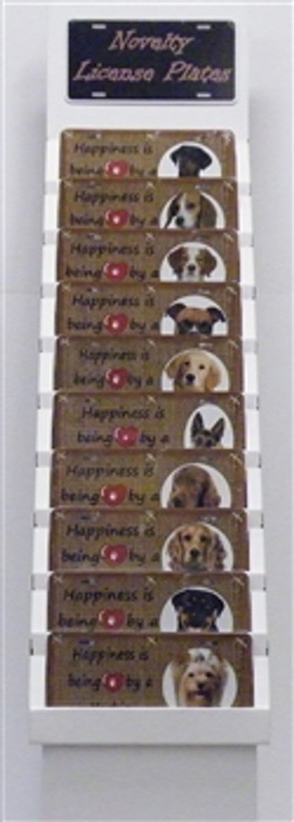 Package 2 - Dog Breeds -120 Best Sellers Wholesale Novelty License Plates