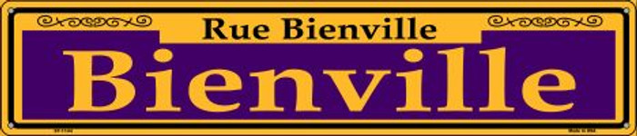 Bienville Purple Wholesale Novelty Metal Street Sign ST-1144