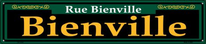 Bienville Green Wholesale Novelty Metal Street Sign ST-1202