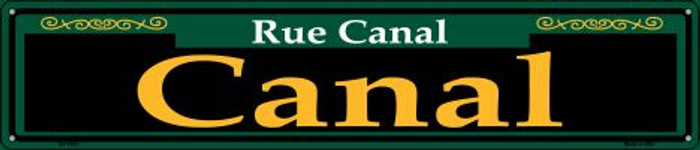 Canal Green Wholesale Novelty Metal Street Sign ST-1203