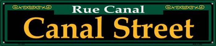 Canal Street Green Wholesale Novelty Metal Street Sign ST-1223