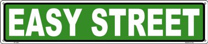 Easy Street Wholesale Novelty Metal Street Sign ST-1283