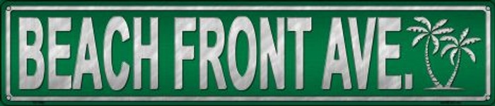 Beach Front Ave Wholesale Novelty Metal Street Sign ST-1294