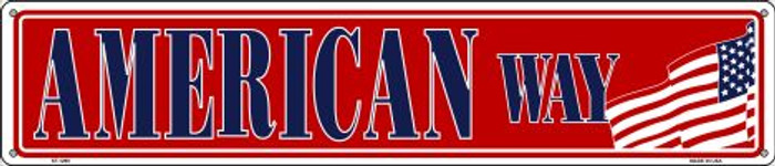 American Way Wholesale Novelty Metal Street Sign ST-1290