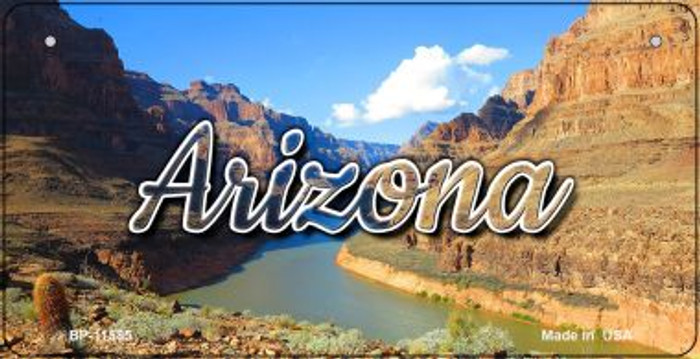 Arizona Canyon Wholesale Novelty Metal Bicycle Plate BP-11585