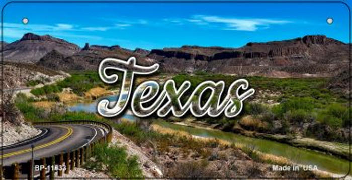 Texas City Lights Wholesale Novelty Metal Bicycle Plate BP-11633