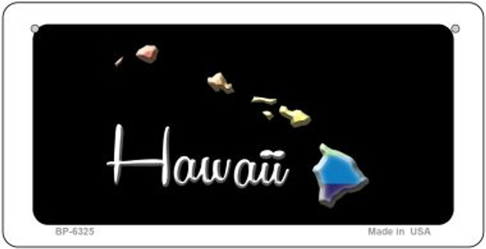 Hawaii Rainbow State Wholesale Novelty Metal Bicycle Plate BP-6325