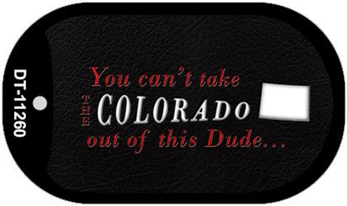 Colorado Dude Wholesale Novelty Metal Dog Tag Necklace DT-11260