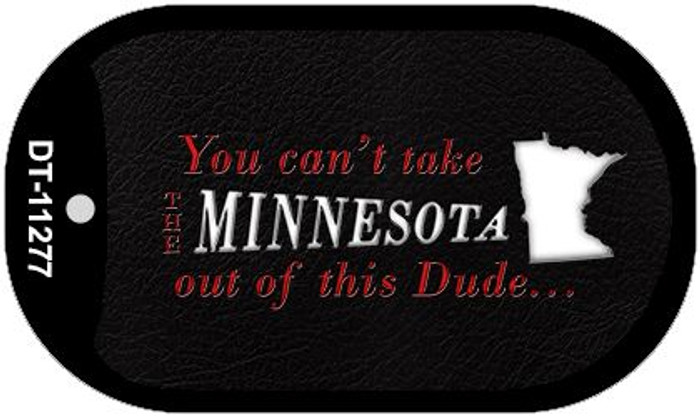 Minnesota Dude Wholesale Novelty Metal Dog Tag Necklace DT-11277