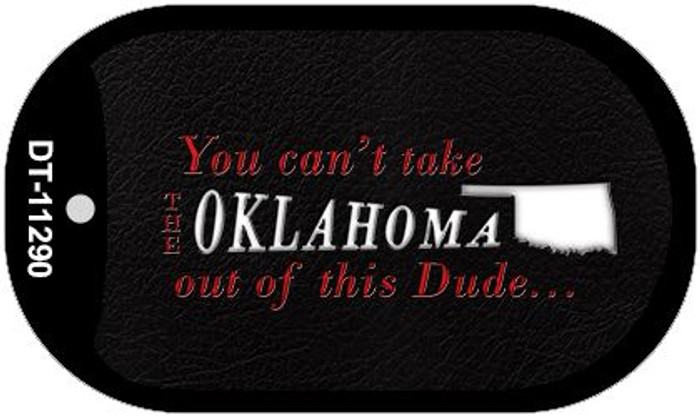 Oklahoma Dude Wholesale Novelty Metal Dog Tag Necklace DT-11290