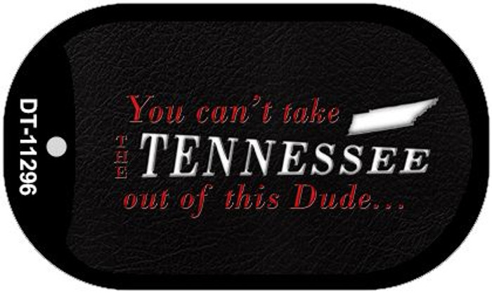 Tennessee Dude Wholesale Novelty Metal Dog Tag Necklace DT-11296