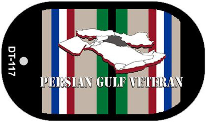 Persian Gulf Veteran Wholesale Novelty Metal Dog Tag Necklace DT-117
