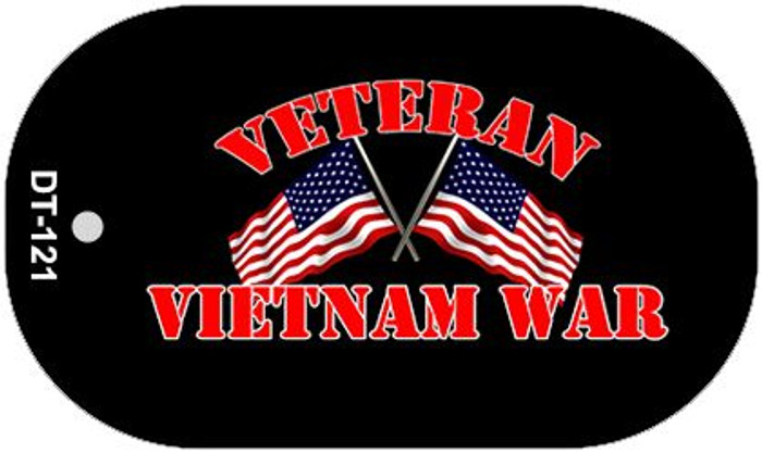 Vietnam War Veteran Wholesale Novelty Metal Dog Tag Necklace DT-121