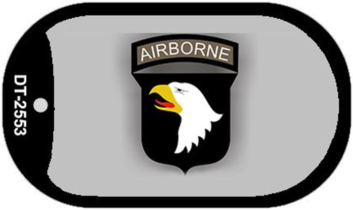 Airborne Eagle Wholesale Novelty Metal Dog Tag Necklace DT-2553