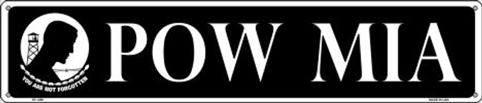 POW MIA Wholesale Novelty Metal Street Sign ST-1296