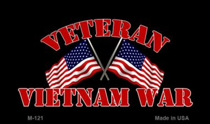 Vietnam War Veteran Wholesale Novelty Metal Magnet M-121