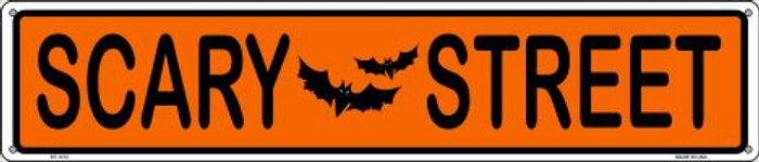 Scary Street Wholesale Novelty Metal Street Sign ST-1312