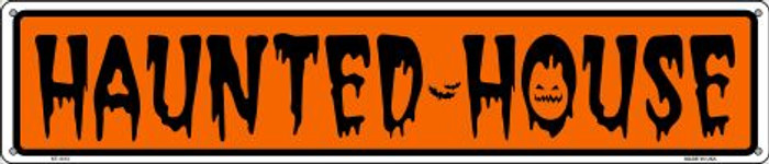 Haunted House Wholesale Novelty Metal Street Sign ST-1313