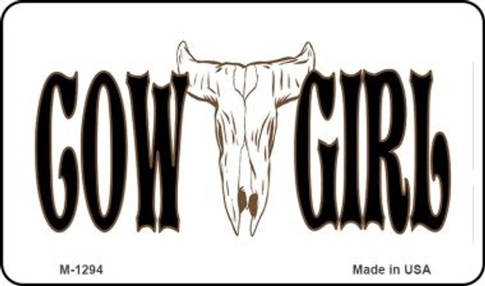 Cowgirl Wholesale Novelty Metal Magnet M-1294