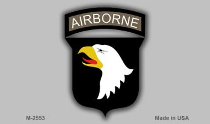 Airborne Eagle Wholesale Novelty Metal Magnet M-2553