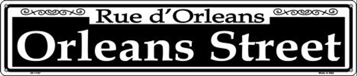 Orleans Street Wholesale Novelty Metal Street Sign ST-1107