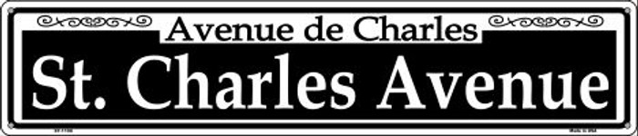 St. Charles Ave Wholesale Novelty Metal Street Sign ST-1109