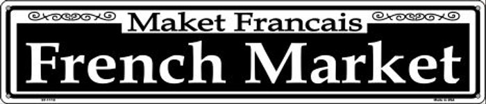 French Market Wholesale Novelty Metal Street Sign ST-1110