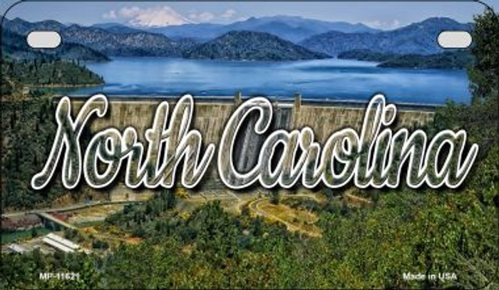 North Carolina Dam Wholesale Novelty Metal Motorcycle Plate MP-11621