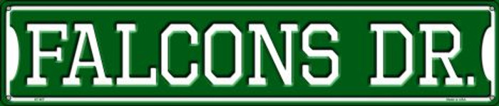Falcons Dr Wholesale Novelty Metal Street Sign ST-957