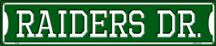 Raiders Dr Wholesale Novelty Metal Street Sign ST-965