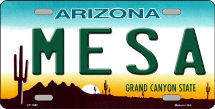 Mesa Arizona Novelty Wholesale Metal License Plate
